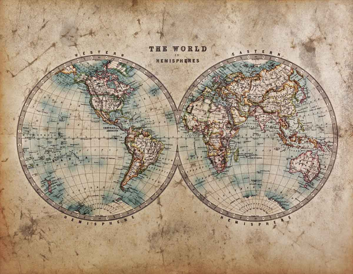 Foto del mapamundi quickimage for Mapa del mundo decoracion