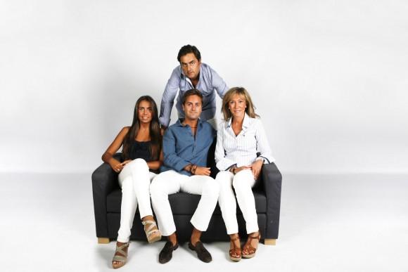 Sesion fotos de familia en Estudio Madrid