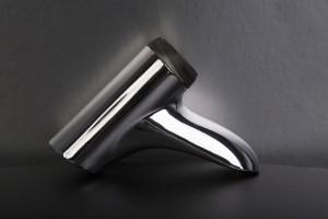 Grifo impreso en 3D, tecnología Object, cromado