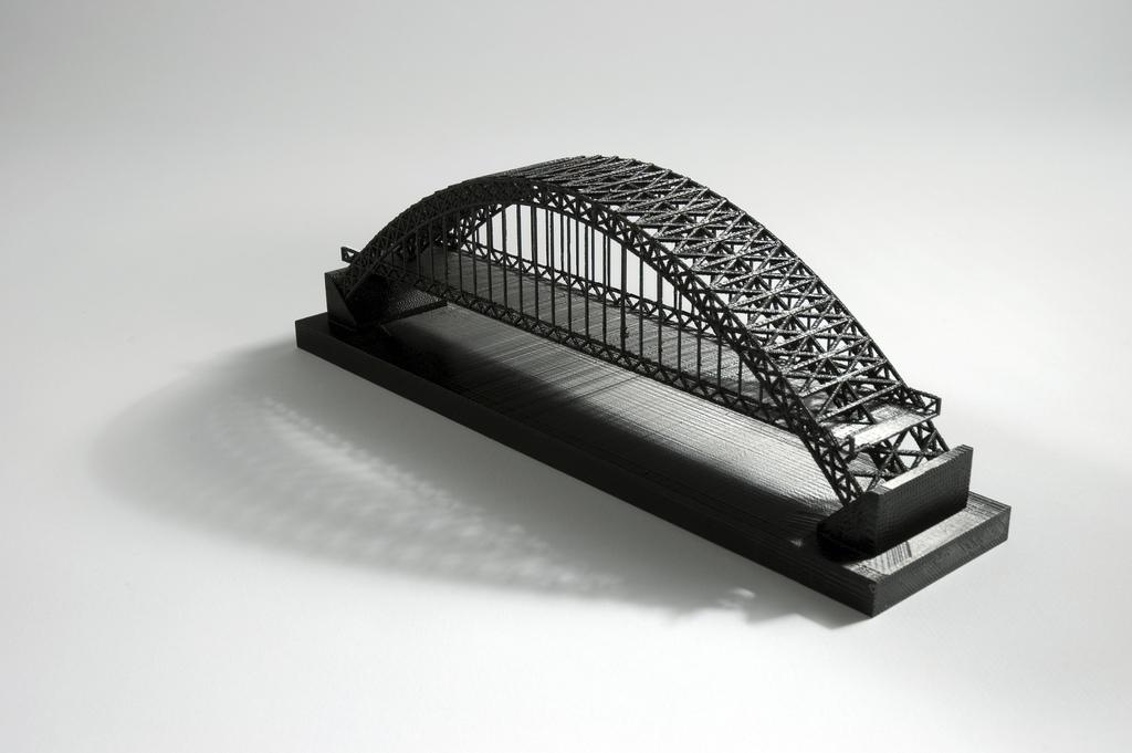 Prototipo de puente impreso 3d con Dimension 1200