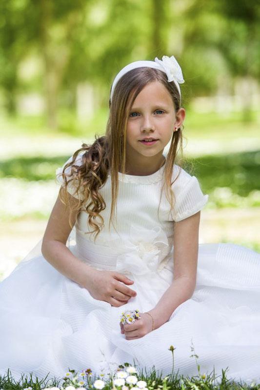 Retrato comunion niña