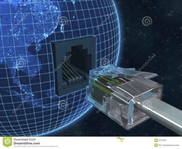 Metáfora de planeta conectado 2757597 Dreamstime