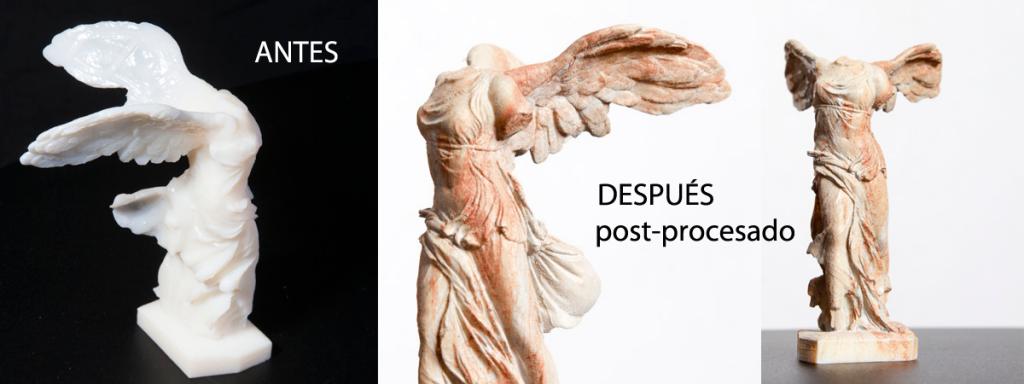 Postprocesado-escultura