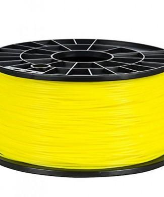 bobina 1 kg de filamento amarillo 1.75mm