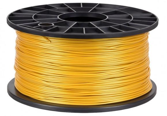 bobina 1 kg de filamento oro 1.75mm