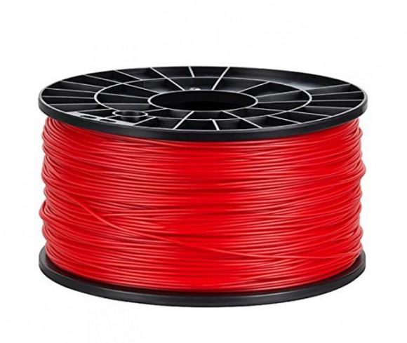 bobina 1 kg de filamento rojo 1.75mm