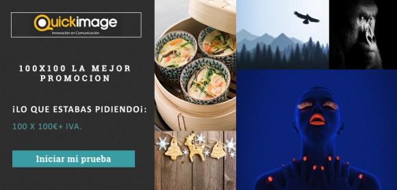 promoción ingimage 100 imágenes x 100€