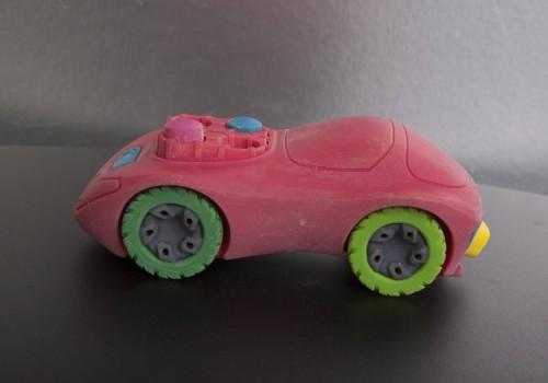 Coche impreso en 3D, tecnologia Object, Polyjet. Connex 3