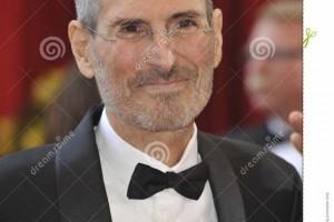 Marca de agua sobreimpresa en una foto de Steve Jobs del archivo Dreamstime con referencia: 26217806